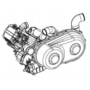 Запчасти двигателя мотоцикла Stels 600 Benelli