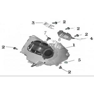 Фильтр воздушный мотоцикла Stels 600 Benelli