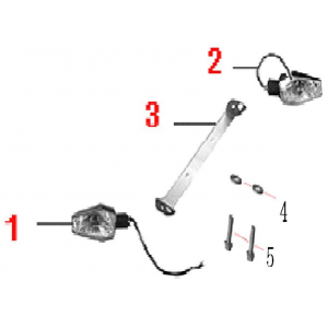 Задние фонари указателей поворотов